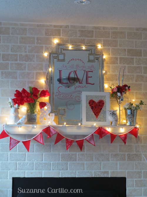 Valentine Day home decorating ideas