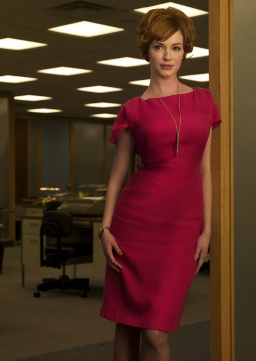 Joan-From-Mad-Men-sheath dress