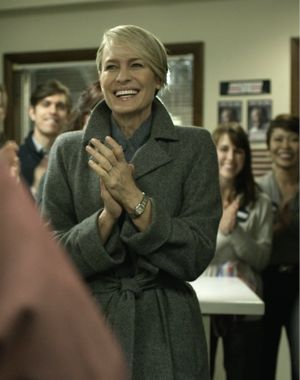 Claire Underwood style house of cards how to wear monochrome over 40
