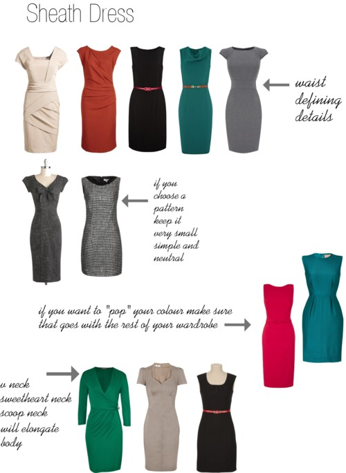 How to buy the right sheath dress