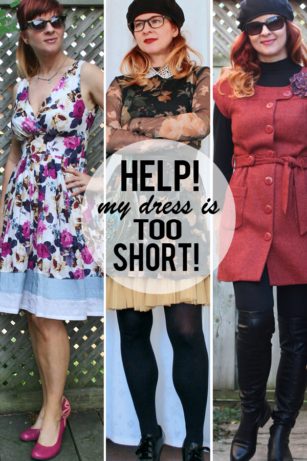 b098c4bc3 4 Easy Solutions To Wear A Dress That Is Too Short