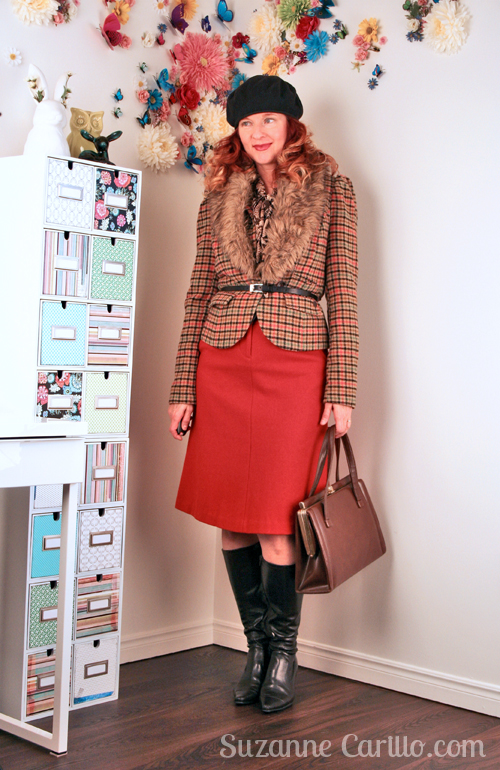 How to wear vintage inspired clothing over 40