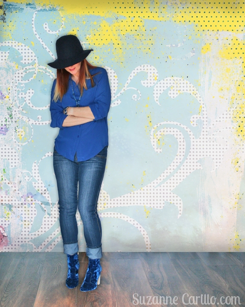 how to wear boho style over 40