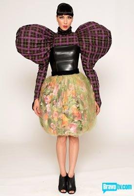 strange dress