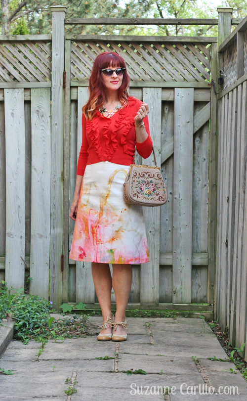 high waisted skirts over 40 fashion and style