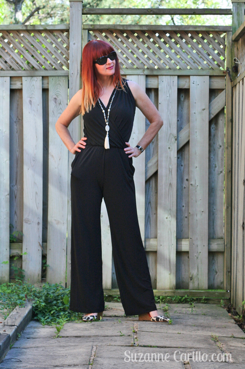 how to style a jumpsuit over 40 style