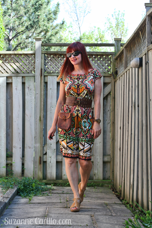 how to wear patterns over 40