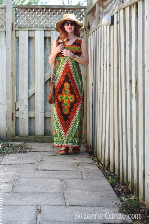 how to wear vintage african prints