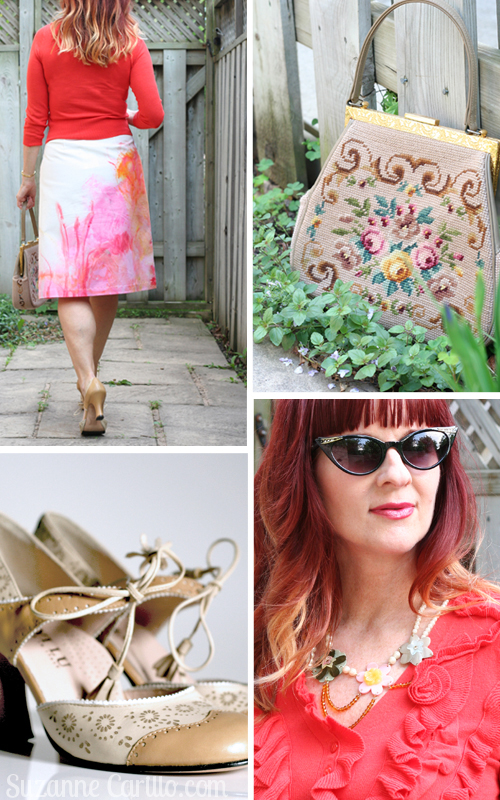 painters palette skirt anthropologie