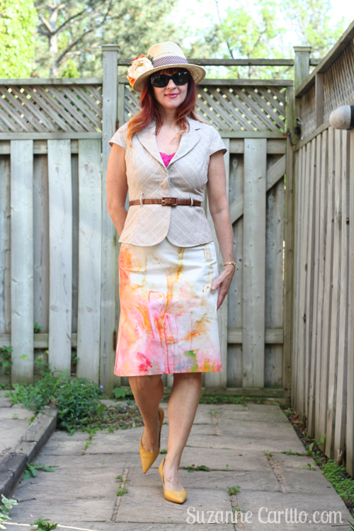 anthropologie painter's palette skirt suzanne carillo