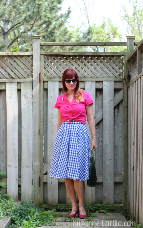 how to wear gingham in summer over 40