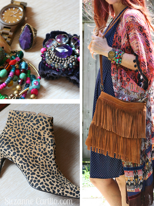 boho accessories look woman over 40 style