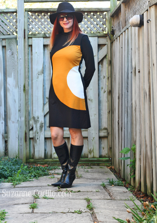 how to wear a retro vintage dress suzanne carillo