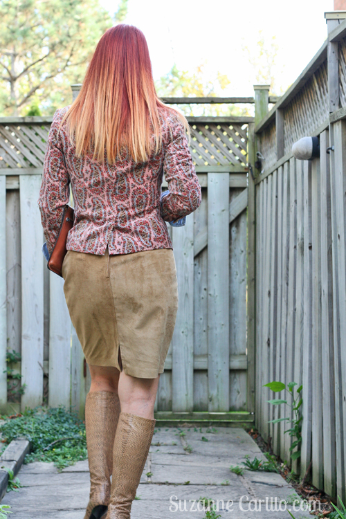 how to wear thrifted clothing over 40 suzanne carillo