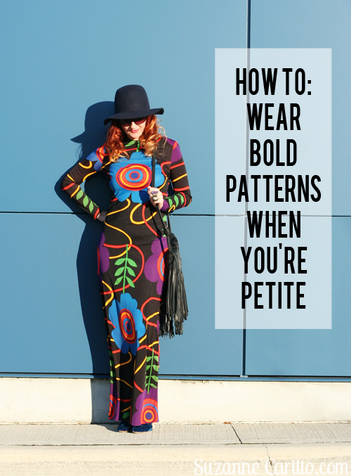 how to wear bold patterns when youre petite suzanne carillo