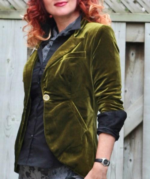 green velvet blazer suzanne carillo