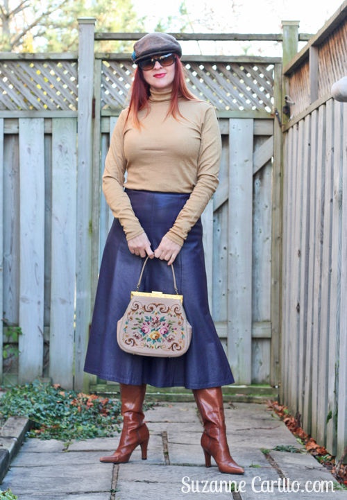 how to wear a full midi skirt over 40 suzanne carillo