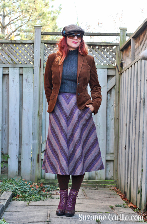 how to wear vintage style in winter suzanne carillo
