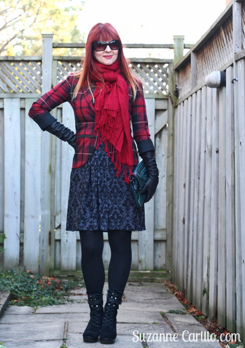 style a karina dress for the holidays suzanne carillo over 40 style