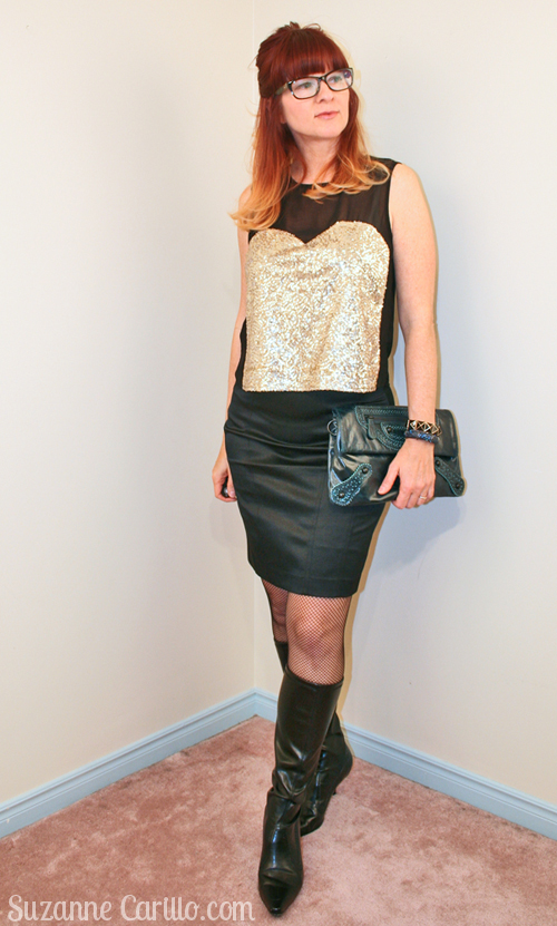 how to wear fishnet stockings over 40 breaking the fashion rules Suzanne Carillo
