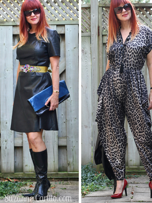 breaking the fashion rules after 40 wearing leather and animal prints