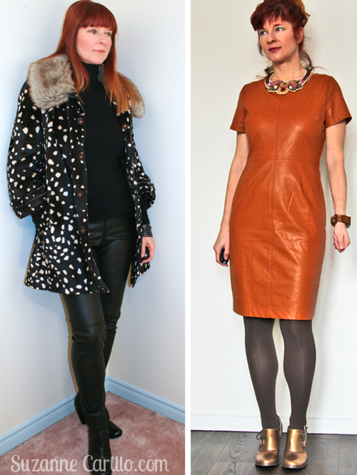 how to wear leather over 40 breaking the fashion rules suzanne carillo