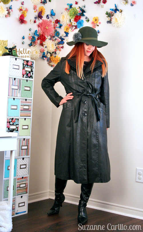 classic trench coat in black style for women over 40 suzanne carillo