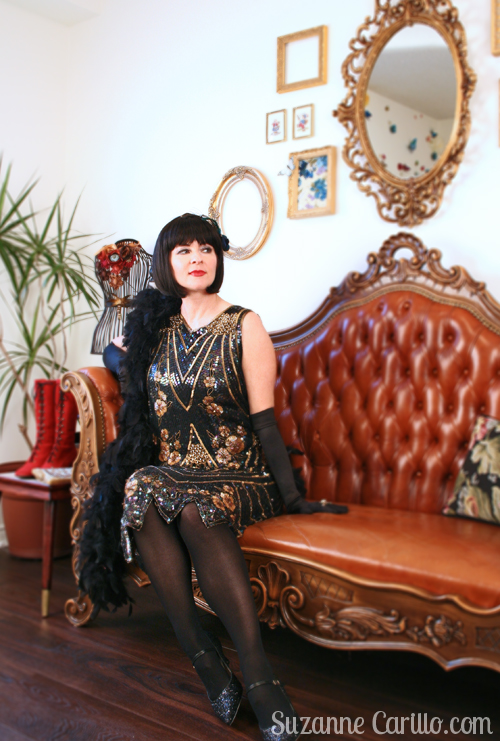 flapper style 1920s style suzanne carillo