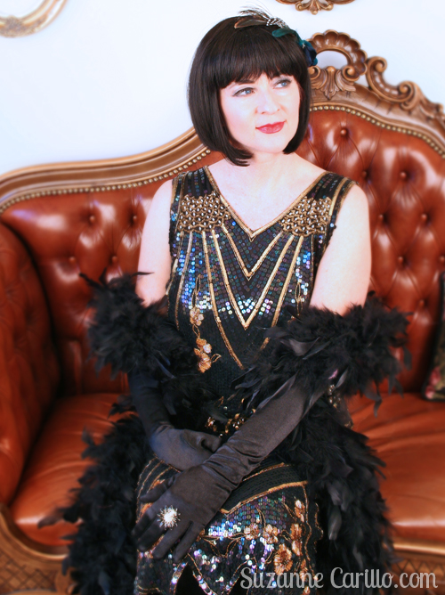 how to dress 1920s style for a party over 40 suzanne carillo