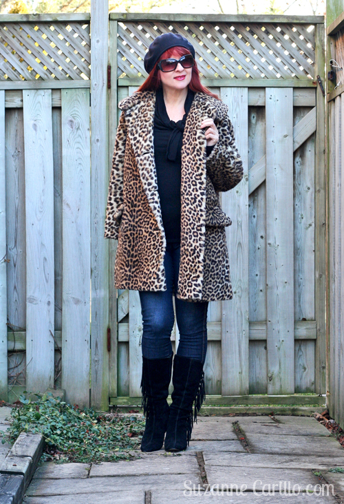 how to style leopard print over 40