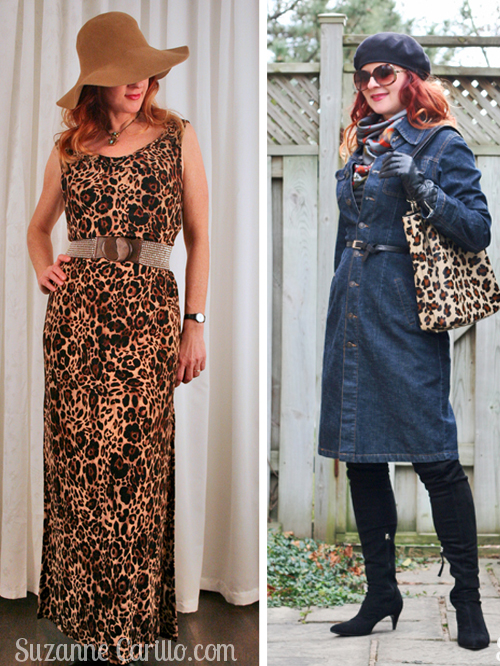 how to wear cougar style animal prints over 40 suzanne carillo