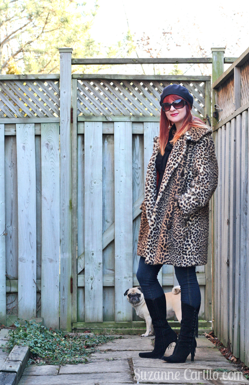 how to wear leopard over 40