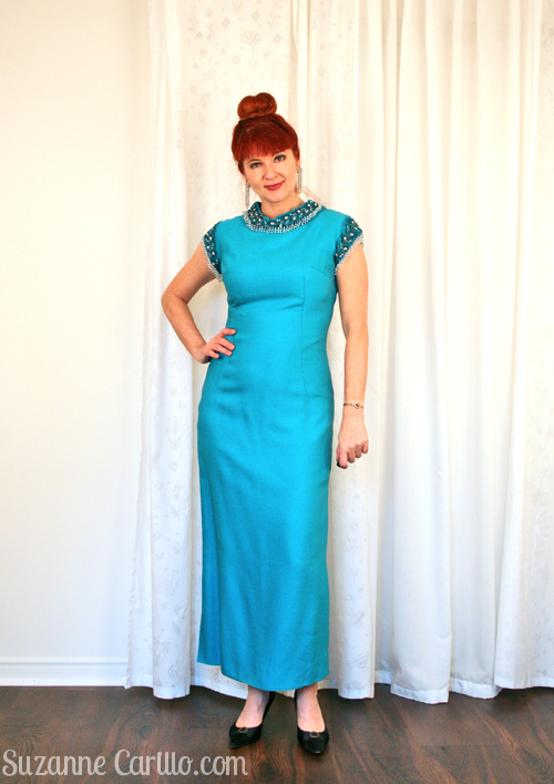 what I wore to the oscars vintage gown suzanne carillo