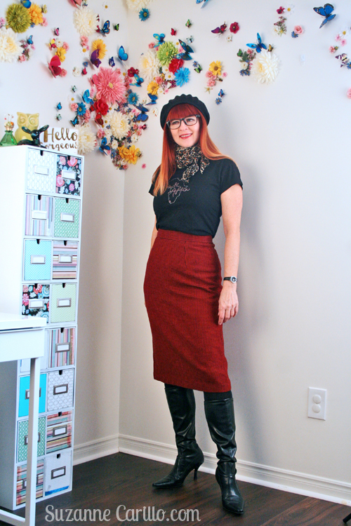 How to increase your clothing lifespan. How to style vintage clothing over 40 suzanne carillo