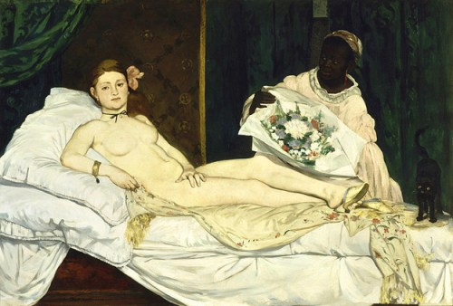 manet olympia black ribbon
