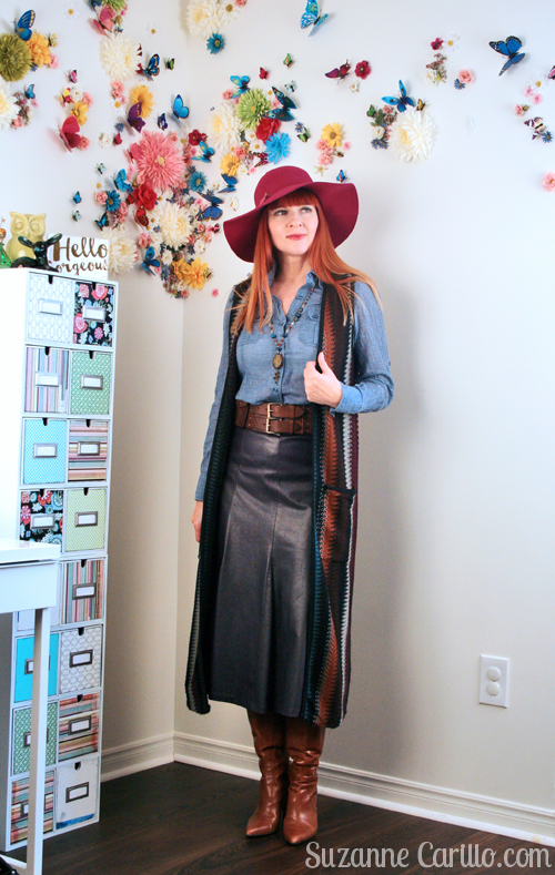 boho style for women over 40