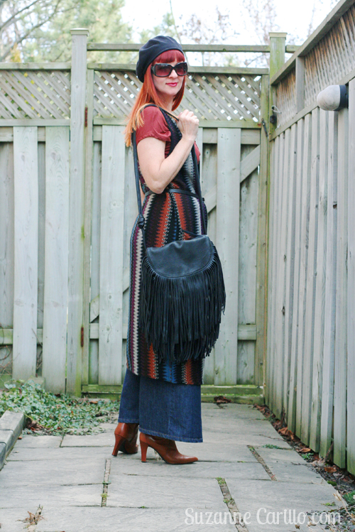 how to style a maxi denim skirt over 40 suzanne carillo