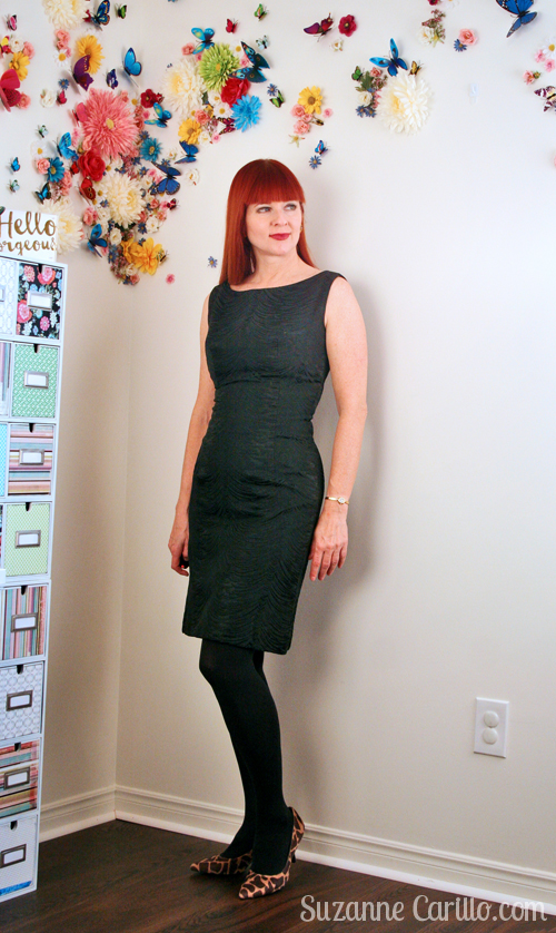 little black dress vintage style over 40 suzanne carillo