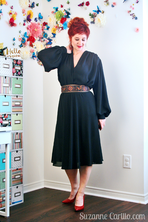 how to style a 1980s dress contemporary suzanne carillo
