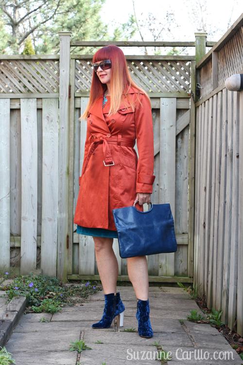 how to wear orange over 40 suzanne carillo