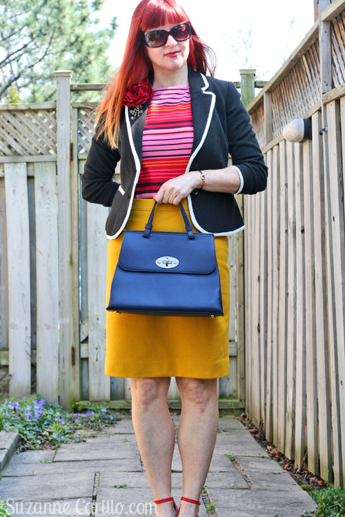 navy danier leather handbag suzanne carillo