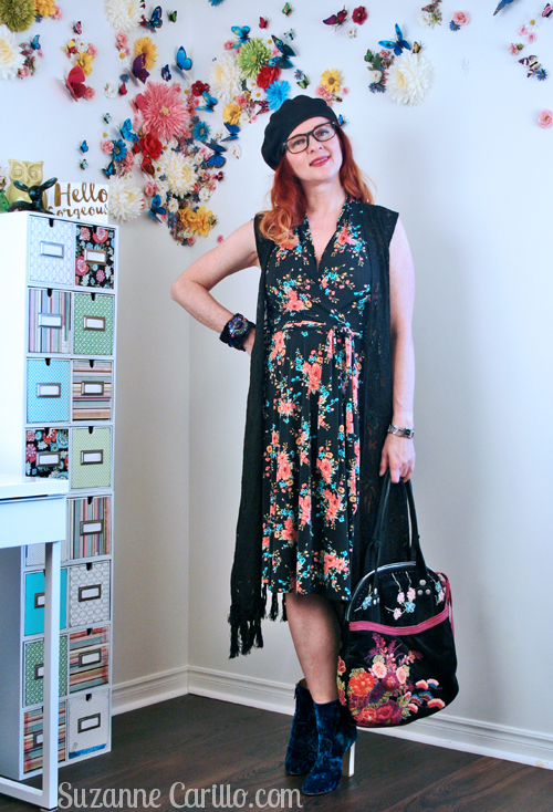 My favourite karina dress styled boho