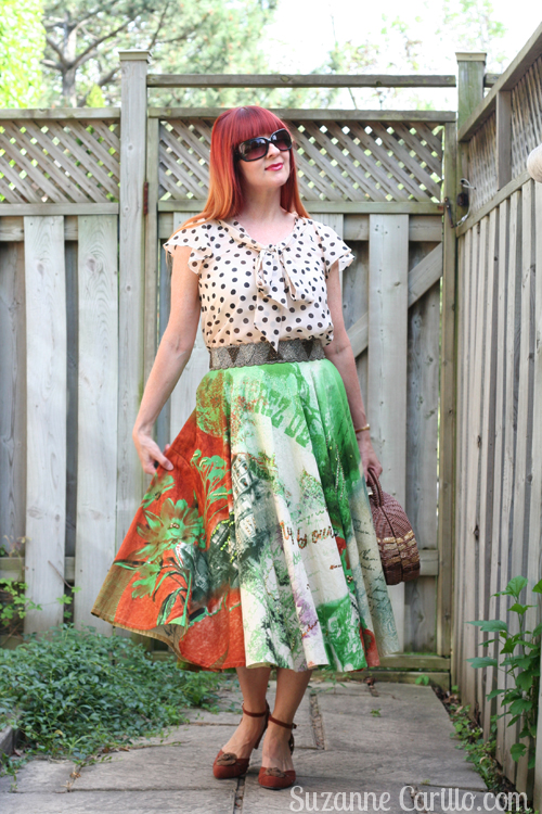 mixing patterns style for women over 40 suzanne carillo