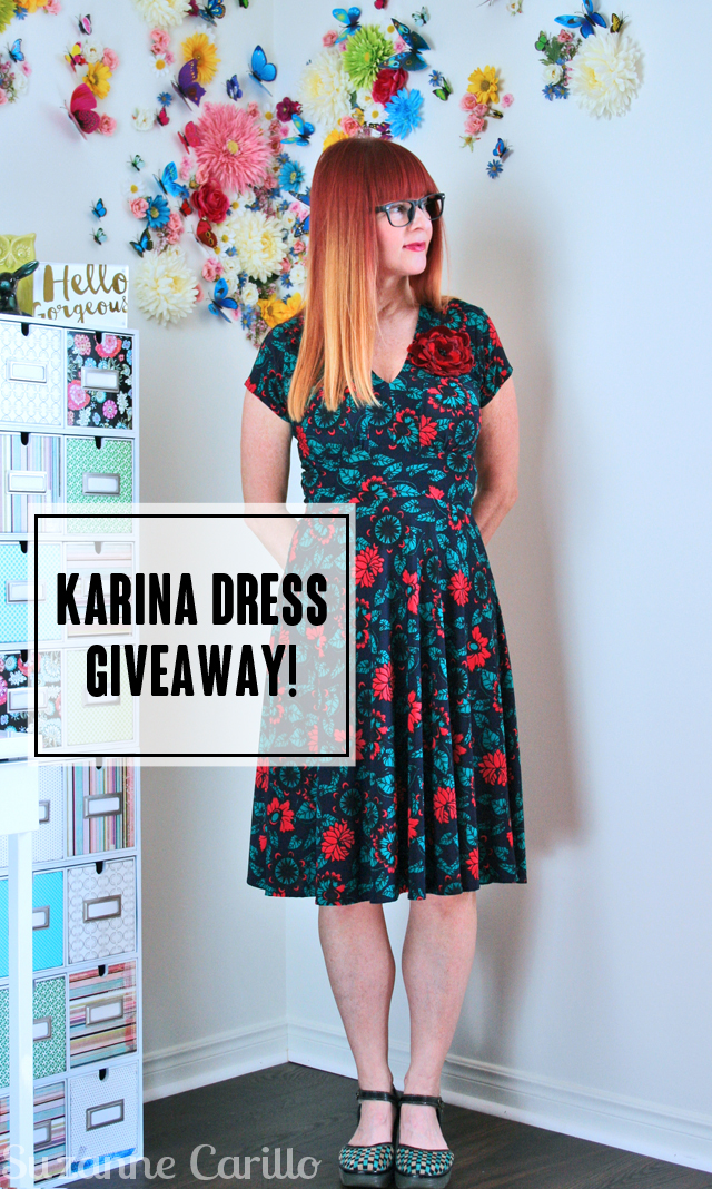 karina dress made in usa giveaway suzanne carillo style over 40