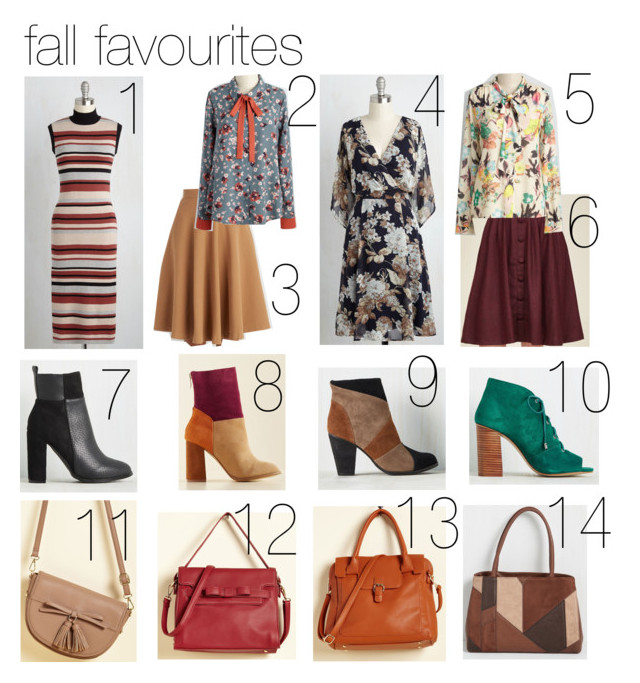 fall fashion favourites modcloth