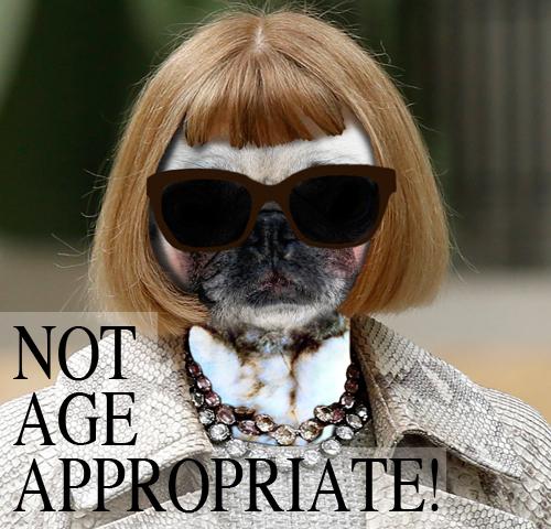 Not age appropriate! Suzanne Carillo Anna Pugtour