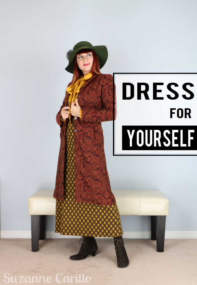 I'm Not Wearing A Costume - I Dress For Myself - Suzanne ...