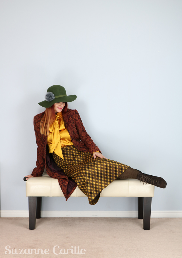 how to style vintage contemporary