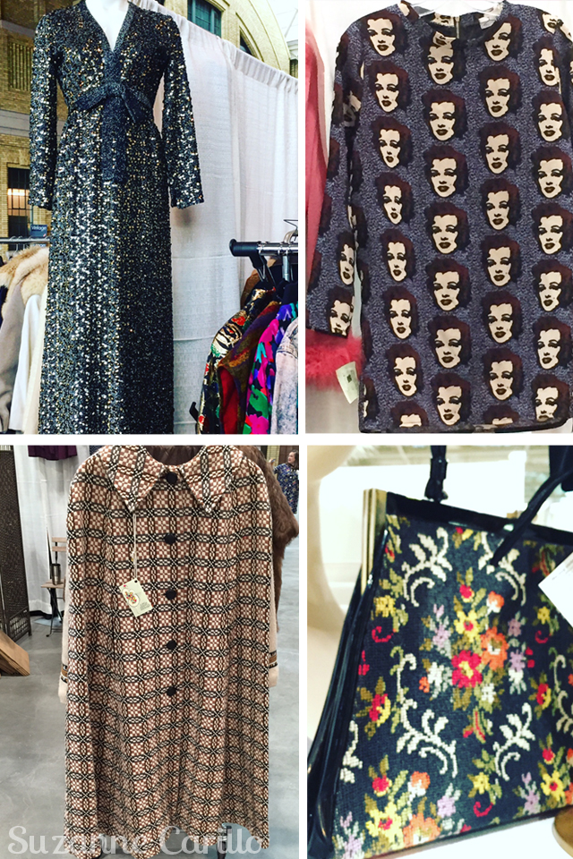 vintage items from toronto vintage clothing show 2016 vintage by Suzanne