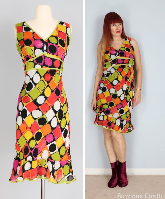 polkadot party dress for sale buy now vintagebysuzanne on etsy